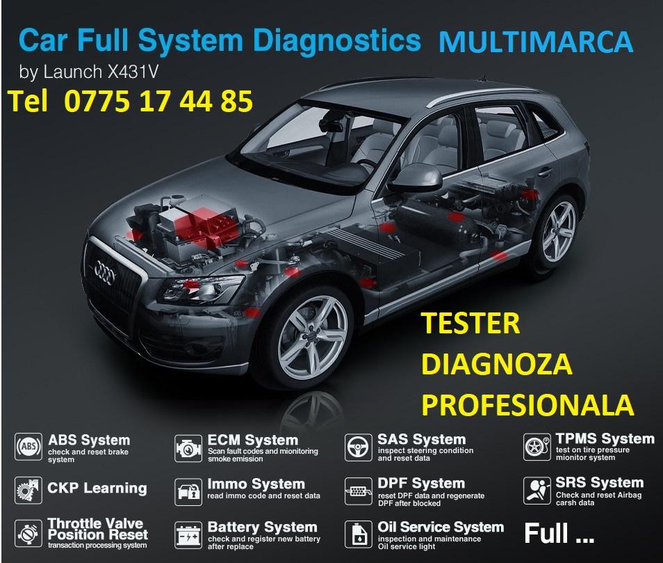 Diagnoza Tester auto profesional Multimarca,repar card,cartela,BMW,diagnoza Mercedes